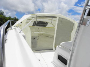 Century center console CC boat Bow Dodger, center console boat shade, bow shade , boating, privacy on center console boat, boat cover , fishing boats ,