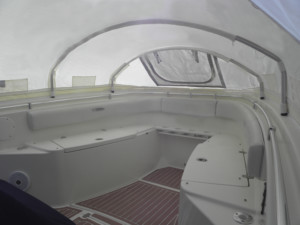 Cobia 296 center console boat