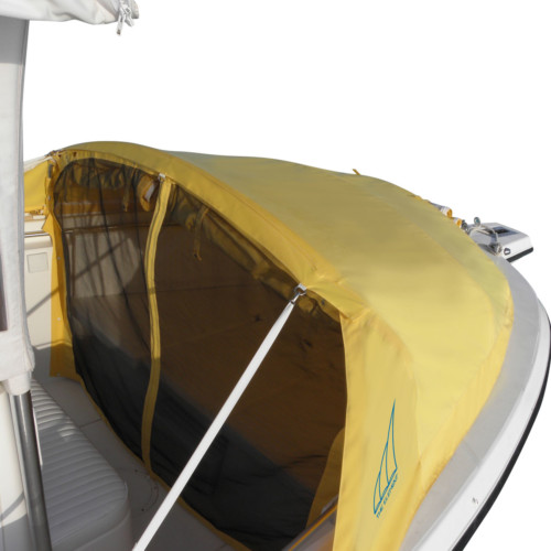 Element Instant Canopy : Small bow canopy prefab instant cabin