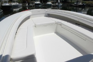 Regulator 34 SS center console bow dodger marine canopy tent