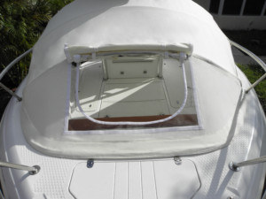 Triumph 215 center console fishing boat Bahamas boating trip