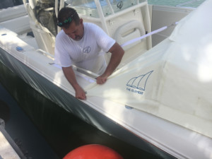 sailfish 320 cc bow shade bow dodger, Sailfish 2860 cc boat tent shade, marine canopy The Element bow dodger spray hood