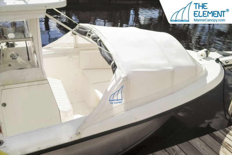 boat cover, bomini top, bow dodger