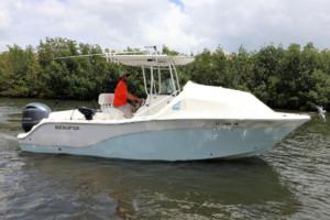 Sea Fox 226 256 266 center console boat shade