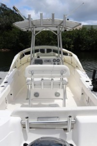 Sea Fox 226 CC 256 CC 266 center console boat bow shade