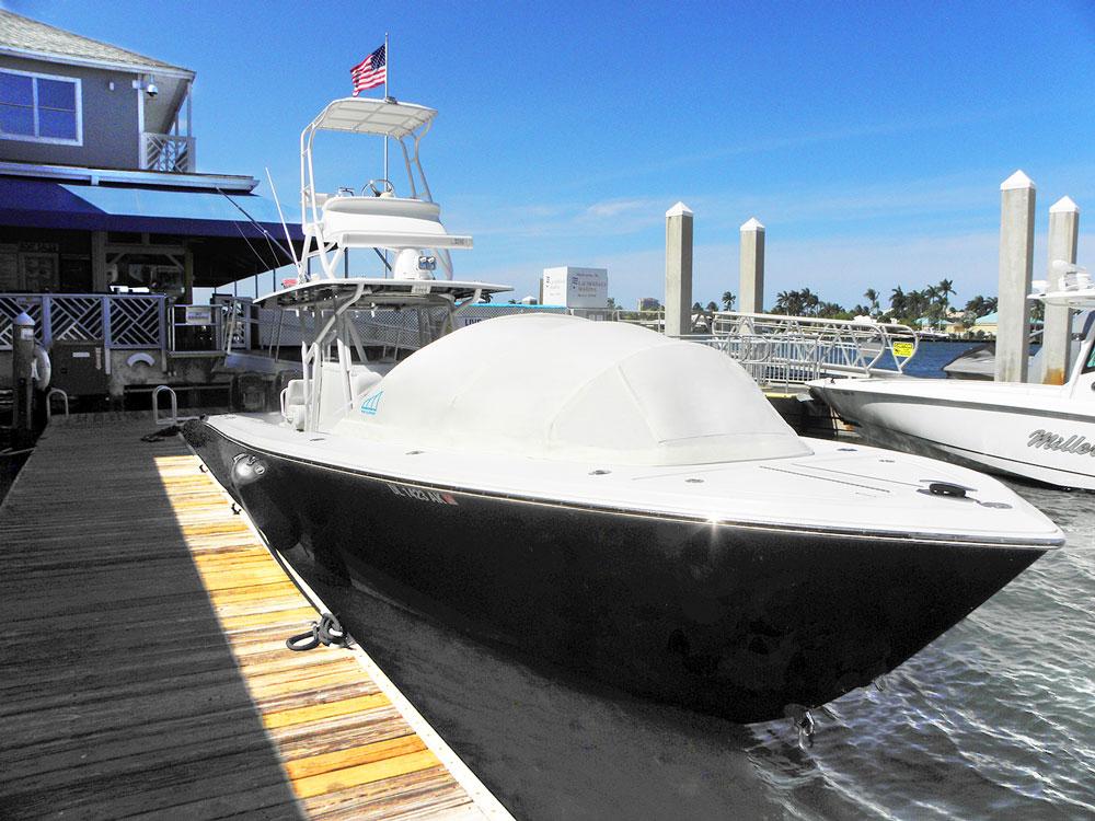 Extra Large Bow Dodger I Prefab Instant Cabin I Boat Shade ...