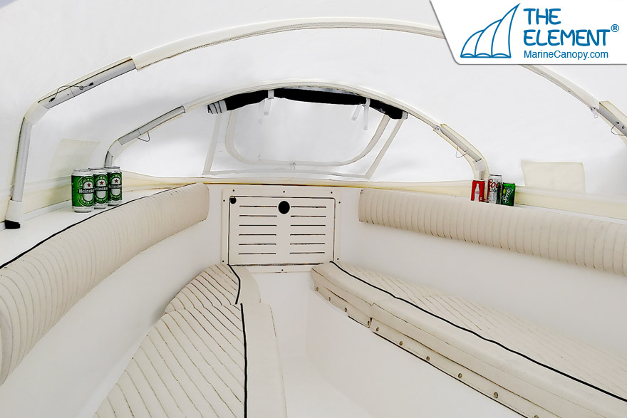 Element Instant Canopy : Making boating more fun for the family element
