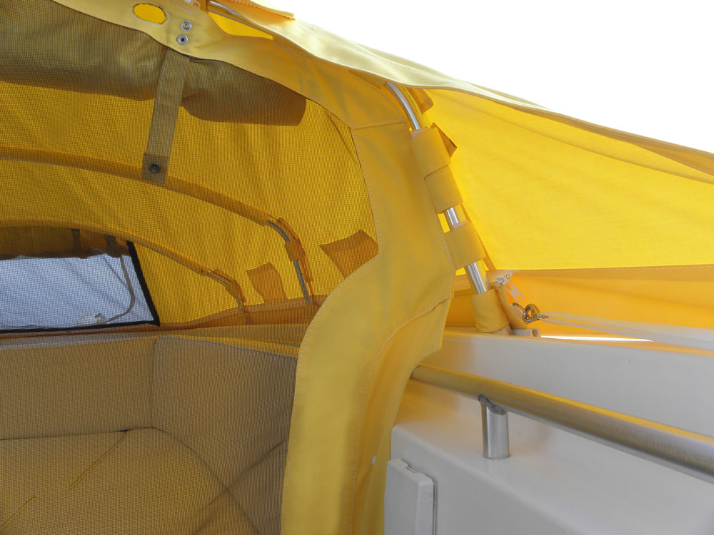 ... boat covers boat canopy bow dodger boat bimini bimini top boat ... & Large Bow Dodger I Prefab Instant Cabin I Boat Shade I The Element®