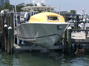 Jupiter 38 FS center console fishing boat