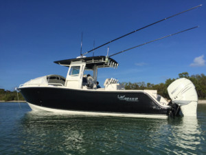Mako 284 center console boat, Mako 284 cc, Mako 282 285 261 center console boat shade
