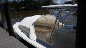 Jupiter 38 FS center console boat