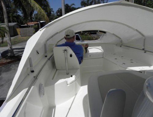 Review of The Element Instant cabin on 2018 Boston Whaler 270 Dauntless