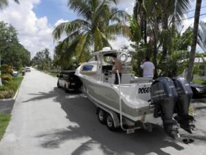 NauticStar 28 XS center console boat