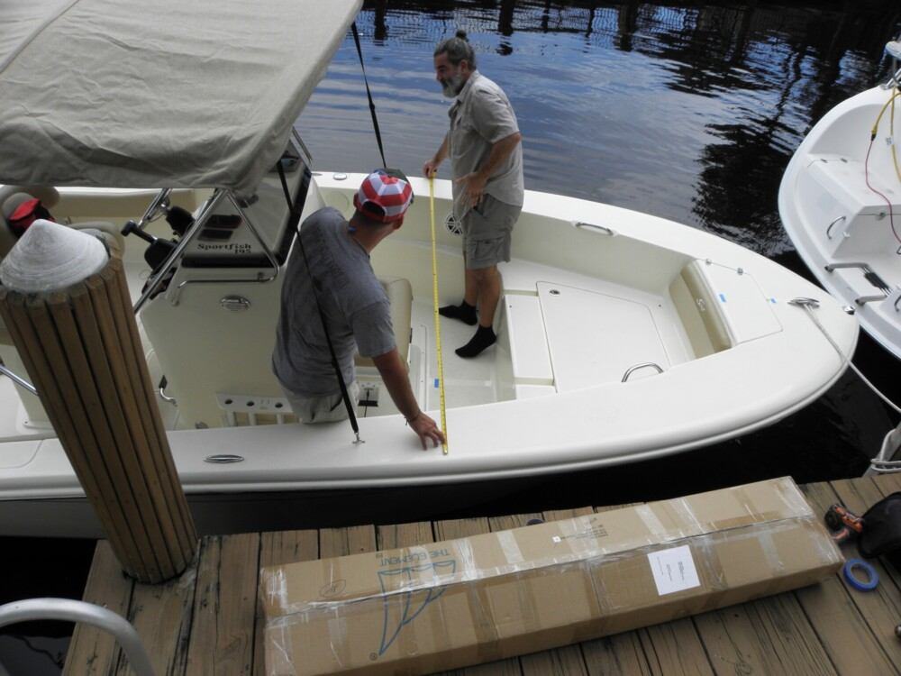 Dry fit instruction guide Marine Canopy Dodger