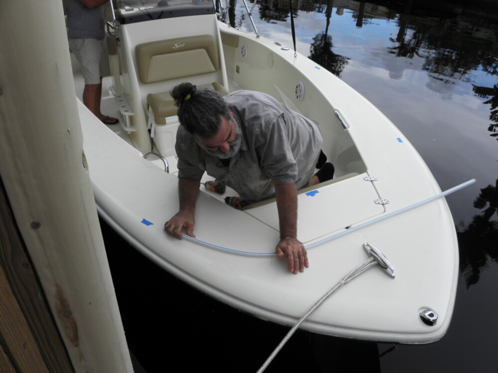 Marine Canopy Bow Dodger Dry Fit instructions